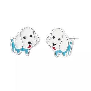 Dog earrings